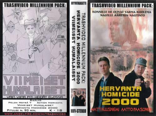 Trash Video Millennium Pack (2000) director:  | VHS | Trash Video (finland)