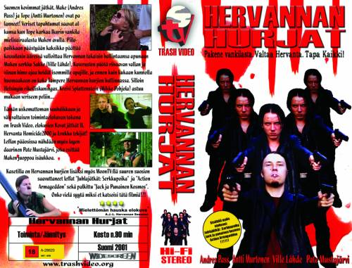 Hervannan Hurjat (2001) director: Matti Kuusniemi | VHS | Trash Video (finland)