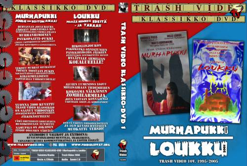 Trash Video Klassikko-DVD (2000) director: Matti Kuusniemi | DVD | Trash Video (finland)