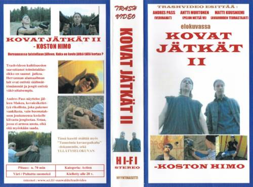 Kovat jätkät II -koston himo (1997) director:  | VHS | Trash Video (finland)