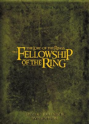 Lord of the Rings: The Fellowship of the Ring The (4-disc special extended edition) (2001) director: Peter Jackson | DVD | FS Film / SF Film / Ab Svensk Filmindustri (finland)