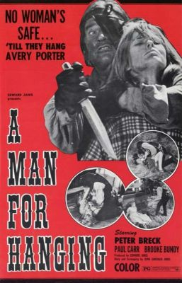 A Man for Hanging (1972), Peter Breck horror movie