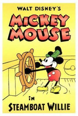 Steamboat Willie (1928), Walt Disney animation movie