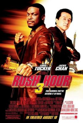 Rush Hour 3 (2007), Chris Tucker action movie