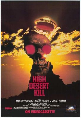 High Desert Kill (1989), Anthony Geary action movie