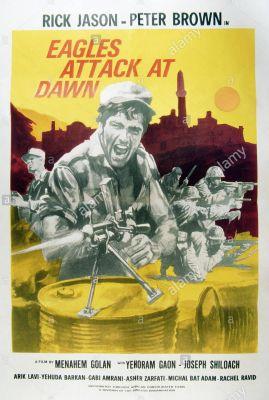 Eagles Attack at Dawn (1970), Rick Jason drama movie