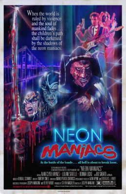 Neon Maniacs (1986), Clyde Hayes horror movie