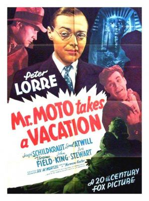 Mr. Moto Takes a Vacation (1939), Peter Lorre action movie