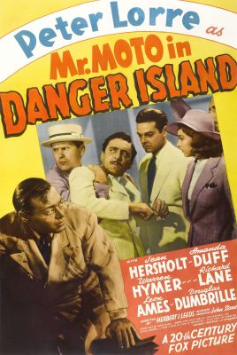 Mr. Moto in Danger Island (1939), Peter Lorre crime movie