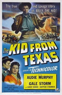 The Kid from Texas (1950), Audie Murphy western movie