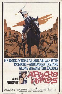 Apache Rifles (1964), Audie Murphy western movie