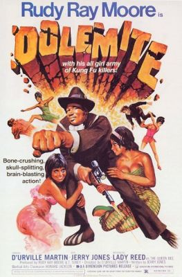 Dolemite (1975), Rudy Ray Moore action movie