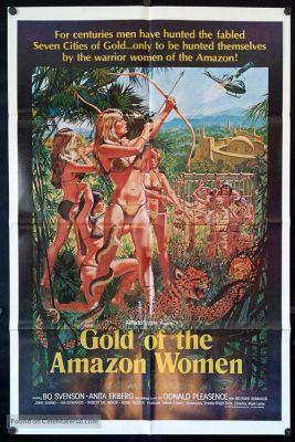 Gold of the Amazon Women (1979), Bo Svenson adventure movie