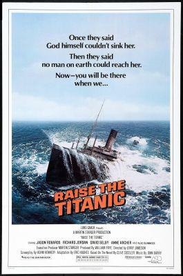 Raise the Titanic (1980), Jason Robards action movie